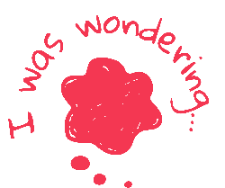I was wondering logo